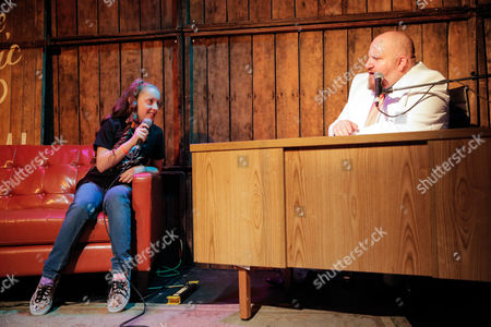 Editorial photo of 'The Night Time Show' with Stephen Kramer Glickman, Los Angeles, America - 14 Oct 2015