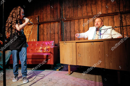 Editorial image of 'The Night Time Show' with Stephen Kramer Glickman, Los Angeles, America - 14 Oct 2015