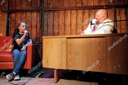 Saffron Herndon and Stephen Kramer Glickman