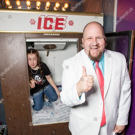 Stock Picture of Saffron Herndon and Stephen Kramer Glickman