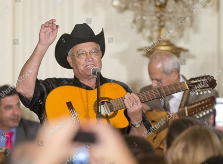 Stock Photo of Eliades Ochoa, a member of the Orquesta Buena Vista Social Club