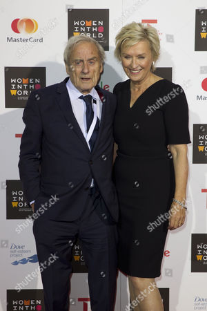 Harold Evans and Tina Brown