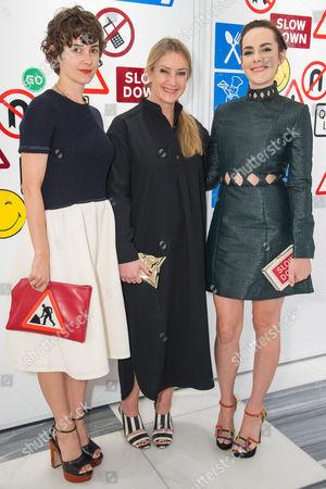 Karla Welch, Anya Hindmarch and Jena Malone