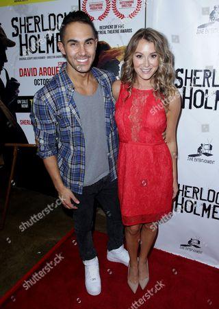 Carlos PenaVega, Jr. and Alexa Vega
