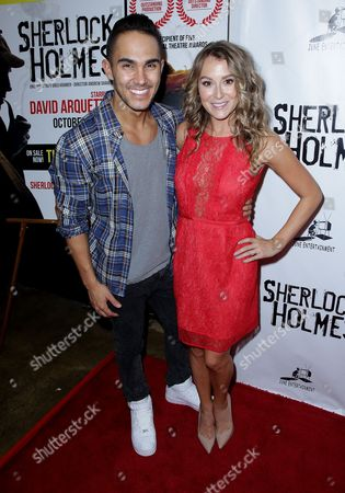 Carlos PenaVega, Jr. and Alexa Vega