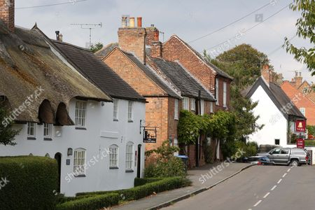 Editorial picture of The Village Of Burton Overy Leicestershire. Brenda Leyland A Troll Who Has Allegedly Attacked Kate And Gerry Mccann On Twitter Lives In The Pretty Village Of Burton Overy Leics.
