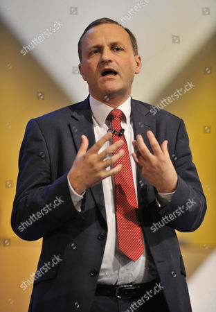 Stock Photo of Liberal Democrat Party Conference At The Scottish Exhibition And Conference Centre Glasgow. - Minister Of State For Pensions Steve Webb Mp.