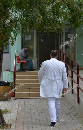 The Clinic For Infectious Diseases In Skopje Where The Body Of A British Man Is Contained. A British Businessman Who May Have Been Killed By The Ebola Virus In Macedonia Was Vomiting And Shaking For Two Days Before He Died His Travelling Companion Revealed Yesterday. Father-of-three Colin Jaffray 58 Travelled With Business Partner Michael English From The Uk To The Balkan State To Try To Set Up A Fish Farm Business. Health Officials In Macedonia Sparked An International Panic In The Aftermath Of His Death By Claiming He Was Displaying Some Of The Symptoms Of The Disease. But Mr English Said Last Night It Was 'crazy' To Think His Friend Was Suffering From Ebola - Because Mr Jaffray Had Not Travelled To Africa For Six Years. Claims That His Friend Died As A Result Of Drinking Too Much Alcohol Were Also Denied.