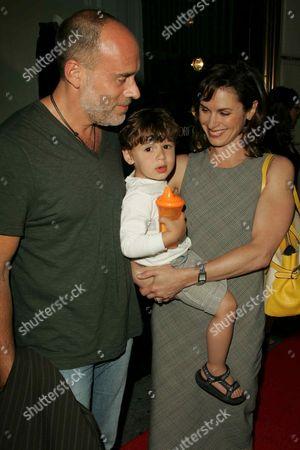 Elizabeth Vargas, Marc Cohen and son