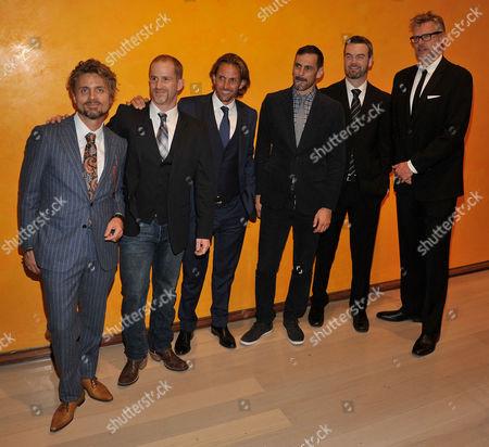 Stock Picture of David Shadrack Smith, Eric Strauss, Michael Davie, Peter Richardson