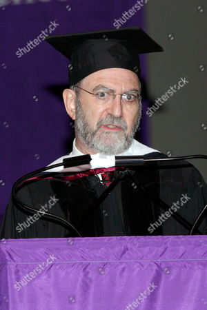 Editorial photo of HUNTER COLLEGE GRADUATION CEREMONY, NEW YORK, AMERICA - 08 JUN 2005