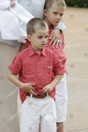 Prince Pablo Nicolas, and Prince Juan Valentin