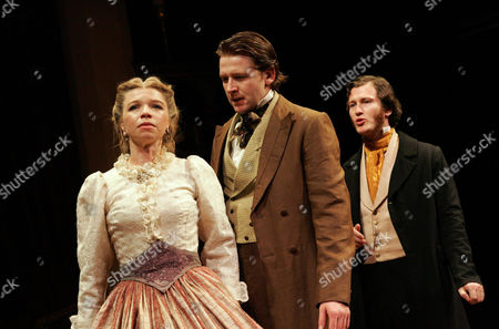 'The Countess' play at the Critereon Theatre, Alison Pargeter, Damian O'Hare and Nick Moran