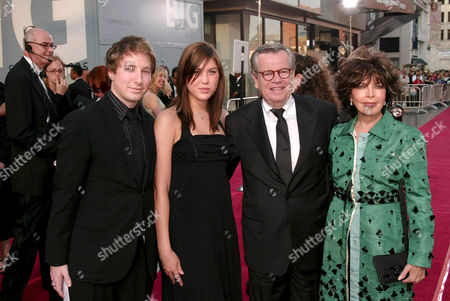 Robert Daly, Carole Bayer Sager and Children