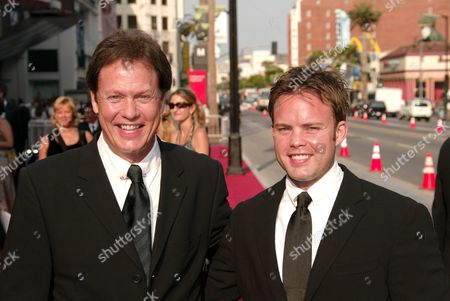 Rick Dees and son Kevin
