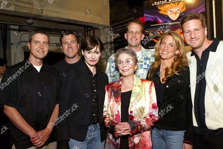 Ned Lott, Rick Dempsey, Emily Mortimer, Jean Simmons, Pete Docter, Cindy Hewitt and Don Hewitt