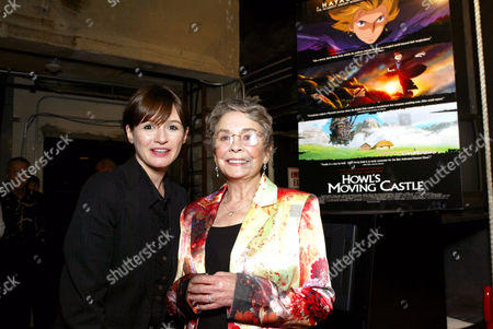 Emily Mortimer and Jean Simmons