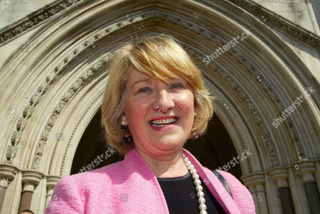 Editorial image of BARONESS JOAN WALMSLEY AT THE HIGH COURT WHERE SHE WON HER CASE AGAINST TRANSPORT FOR LONDON OVER CONGESTION CHARGING, LONDON, BRITAIN - 2005
