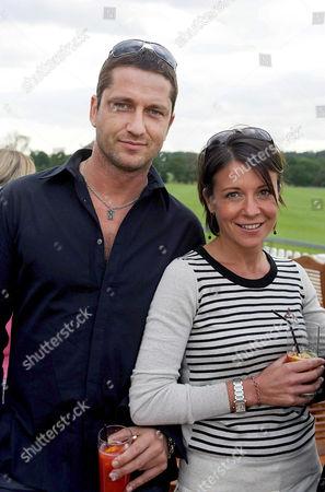 Gerard Butler and Ginny Buckley