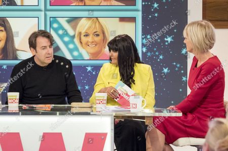 Stock Image of Jonathan Ross, Hilary Devey and Jane Moore.