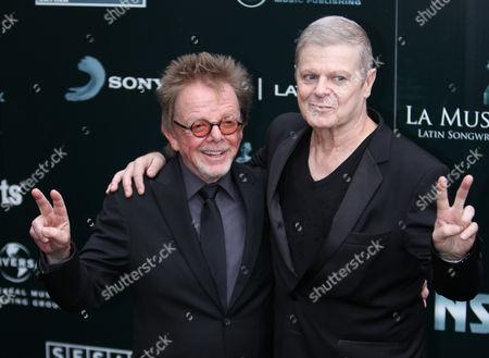 Paul Williams and Gustavo Santaolalla