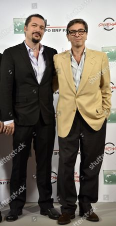Stock Photo of James Platten Vanderbilt and Antonio Monda
