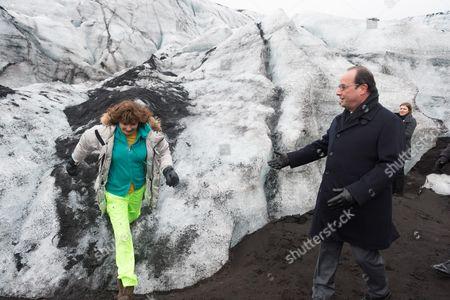 Dorrit Moussaieff and Francois Hollande