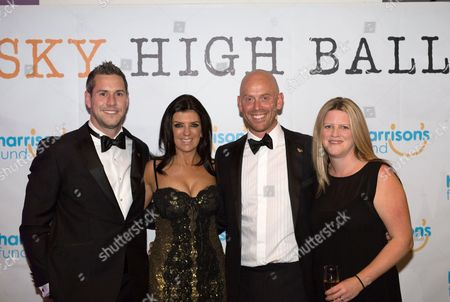 Alex and Donna Smith with Ant Anstead and Dr Dawn Harper