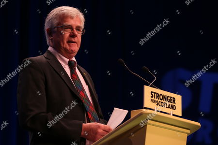 SNP National Conference - Ian Hudghton MEP, and President of the SNP