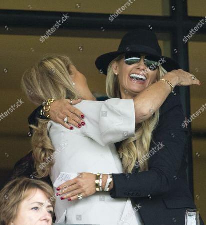 A win for Carla Kyle - wife of TV presenter Jeremy Kyle at Qipco British Champions Day.
