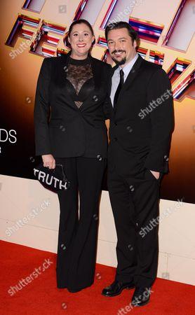 James Vanderbilt and Amber Freeman
