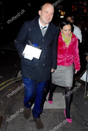 Rory Kinnear and Pandora Colin at the Ivy Restaurant