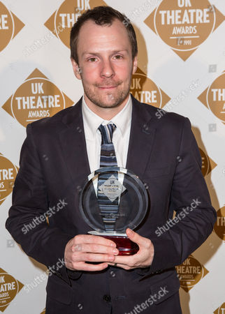 Nikolai Foster (left) of Curve Theatre joint won the Promotion of Diversity award