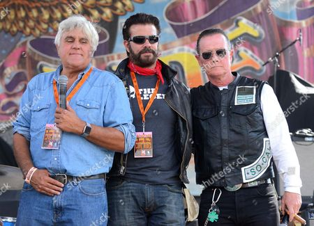 Jay Leno, Lorenzo Lamas and Robert Patrick