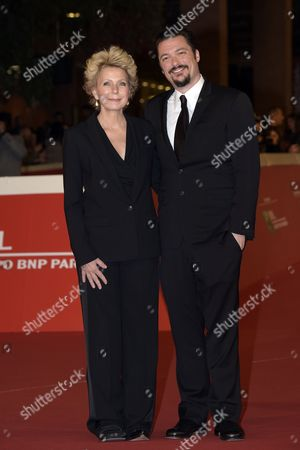 The director James Vanderbilt, Mary Mapes journalist and writer, author of the book that inspired the movie