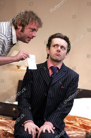 Stock Picture of 'The UN Inspector' at the Olivier Theatre - Nicholas Tennant, Michael Sheen
