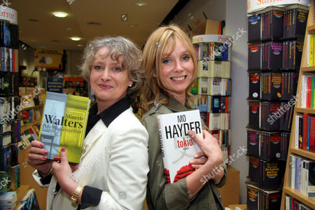 Minette Walters and Mo Hayder