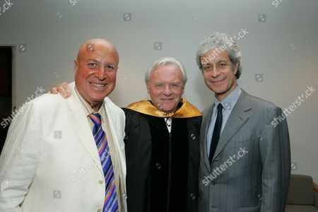 Paul Bloch, Sir Anthony Hopkins and Rick Nicita