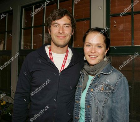 Stock Picture of Mark Duplass and Kathryn Aselton