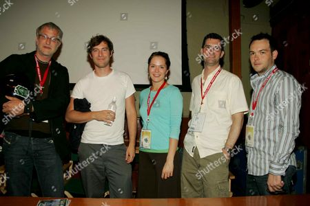Henry Corra, Mark Duplass, Kathryn Aselton, Stephen Garvey and D