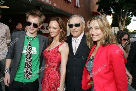 Henry Hopper, Victoria Duffy, Dennis Hopper & Ruthanna Hopper