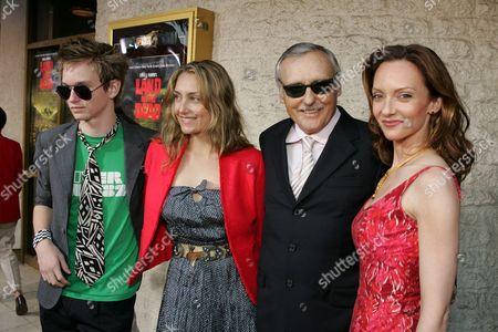 Henry Hopper, Ruthanna Hopper, Dennis Hopper & Victoria Duffy
