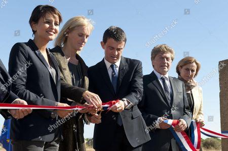 Jean-Marc Todeschini, Najat Vallaud-Belkacem, Segolene Neuville, Manuel Valls, Damien Alary, Hermeline Malherbe