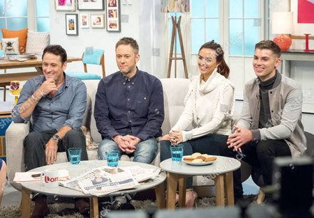Editorial image of 'Lorraine' ITV TV Programme, London, Britain - 19 Oct 2015
