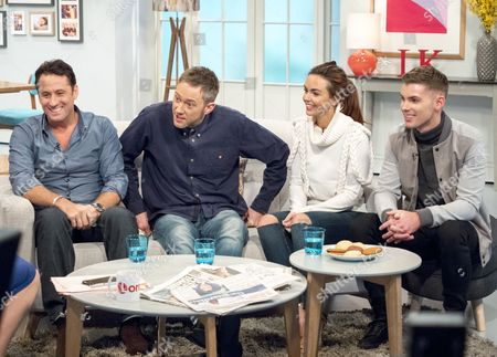 Nick Pickard, James Redmond, Jennifer Metcalfe and Kieron Richardson