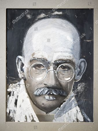 Gandhi: A Collection of Documentation Relating To The Making (est. £500-700) Acetate overlays of Gandhi over John Hurt