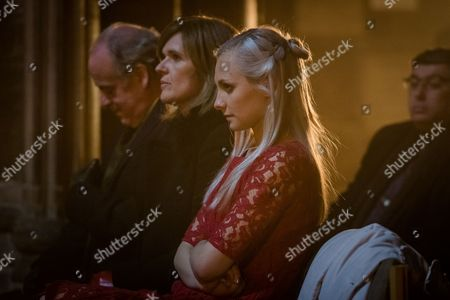 Tim Purefoy [Geoff McGivern], Angela Purefoy [Siobahn Finneran] and Rowenna Napier [Leila Mimmack].