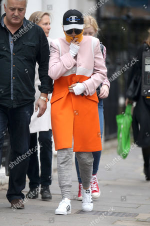 Editorial photo of Rita Ora out and about, London, Britain - 19 Oct 2015
