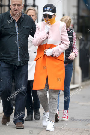 Editorial picture of Rita Ora out and about, London, Britain - 19 Oct 2015