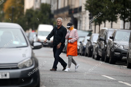 Stock Image of Rita Ora and her father Besnik Sahatciu